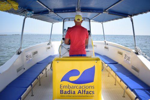 Ruta en barca Delta de l'Ebre